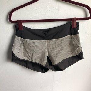 lululemon Speed Shorts size 4